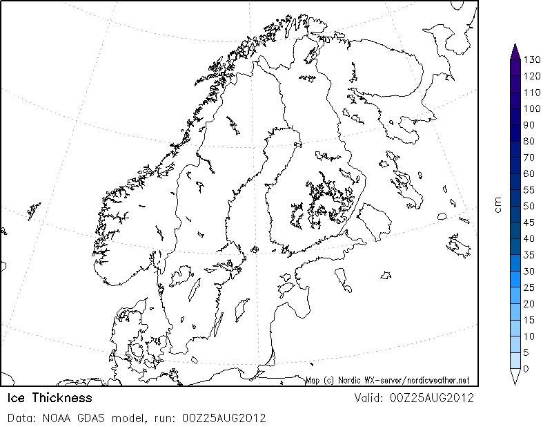 Ledo storis Baltijos jūroje.